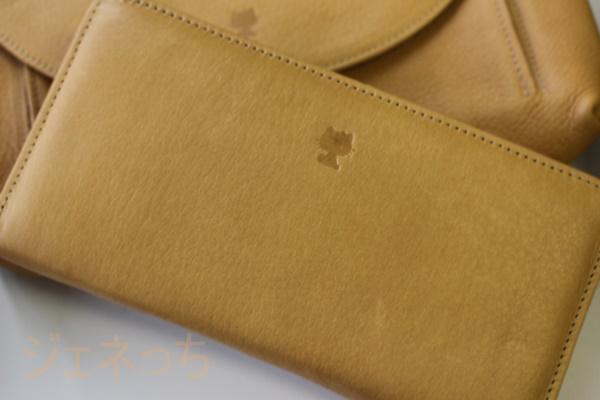 ハローキティの日本製レザーお財布と、バッグ