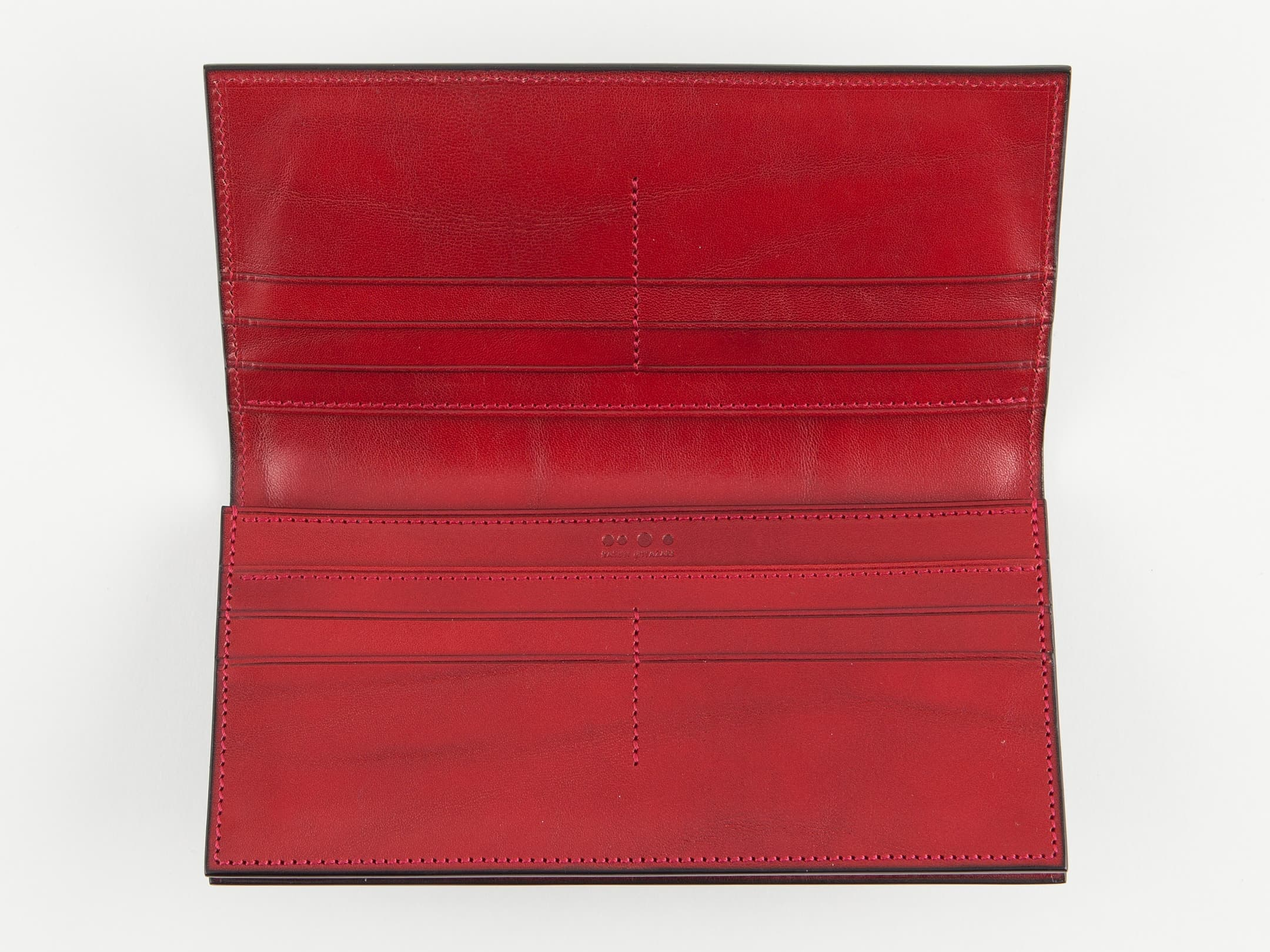 コードバン長財布無二MWL01ML_black-red開くとこんな