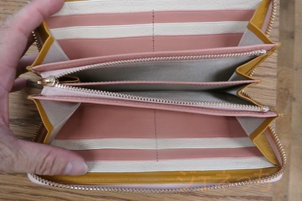 JOGGOレディース長財布の中は、こんな感じ