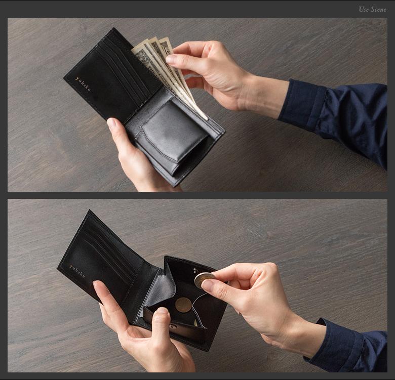 ボックス型の小銭入れは、使いやすい