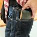 セカンドバッグ並みの大きな、ルイ・ガルシア イタリアンレザー多機能財布