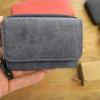 ハレルヤ 革財布に名入りにできる