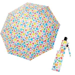カサノヴァ 晴雨兼用折りたたみ傘 (カラフルビー)