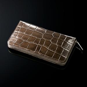 クロコダイル バーシモン セパレート式長財布