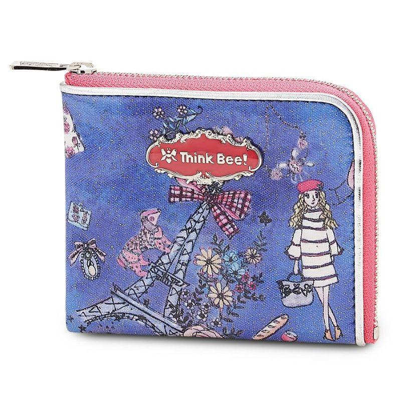 ジョルジュサンク L型財布 (ブルー)