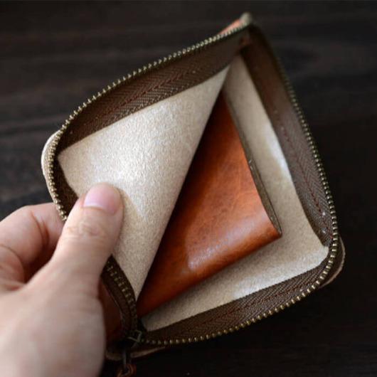 L型コインケース 小銭入れ L字 財布 日本製 本革 レザー メンズ レディース